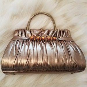 Handbags - Bronze Prom / Formal Bag